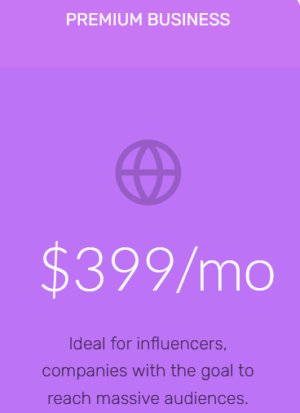 Instagram growth service small business package
